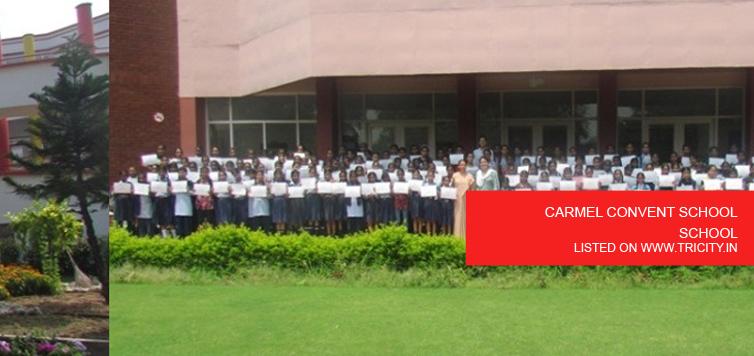 CARMEL CONVENT SCHOOL CHANDIGARH,