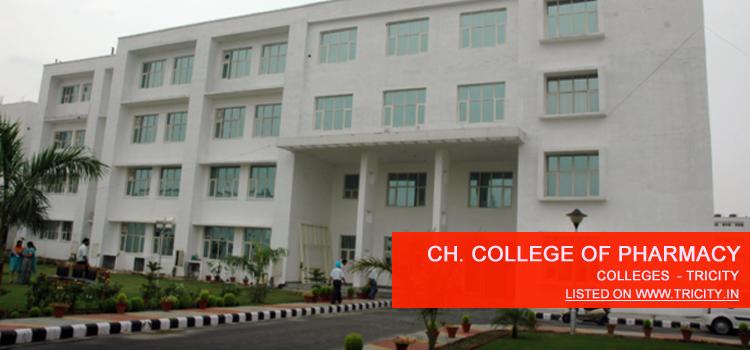 Chandigarh College Of Pharmacy