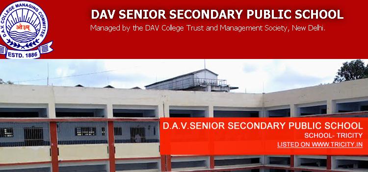 D.A.V.SENIOR SECONDARY PUBLIC SCHOOL