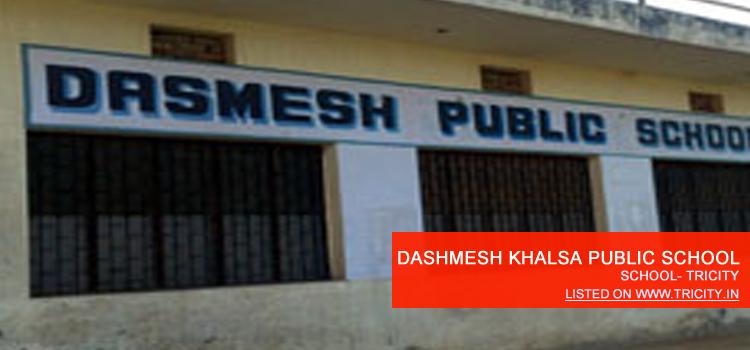 DASHMESH KHALSA PUBLIC SCHOOL