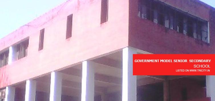 Government Model Senior Secondary School