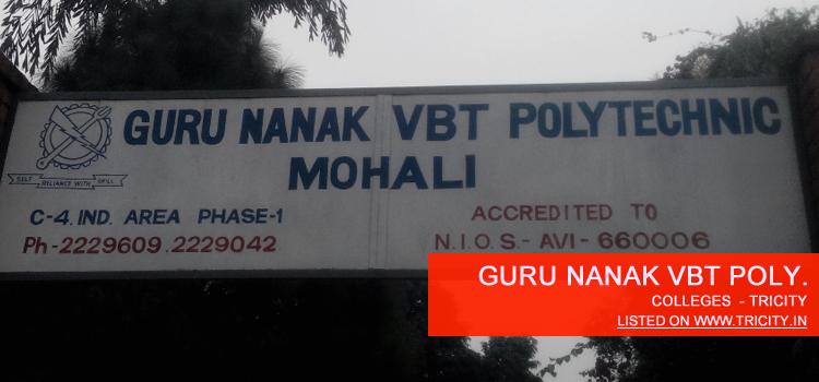 Guru Nanak Vbt Polytechnic