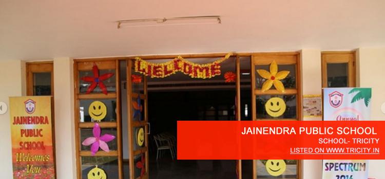 JAINENDRA PUBLIC SCHOOL
