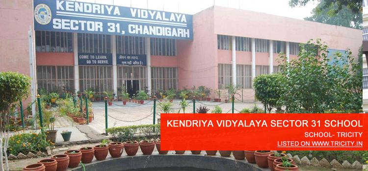 KENDRIYA VIDYALAYA SECTOR 31 SCHOOL