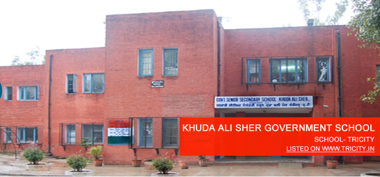 KHUDA ALI SHER GOVERNMENT SCHOOL