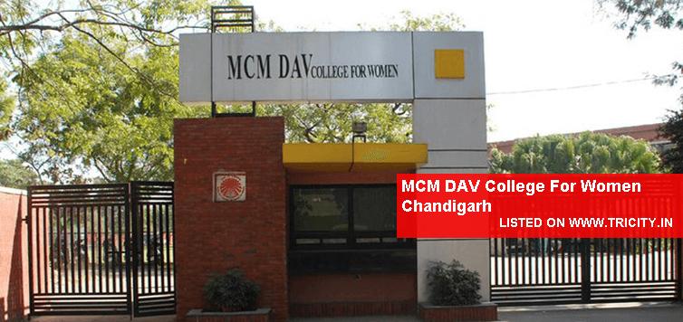 MCM DAV College For Women