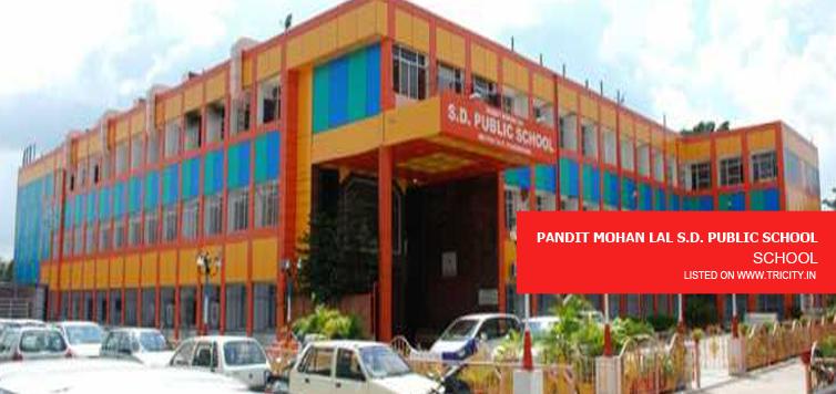 PANDIT MOHAN LAL S.D. PUBLIC SCHOOL