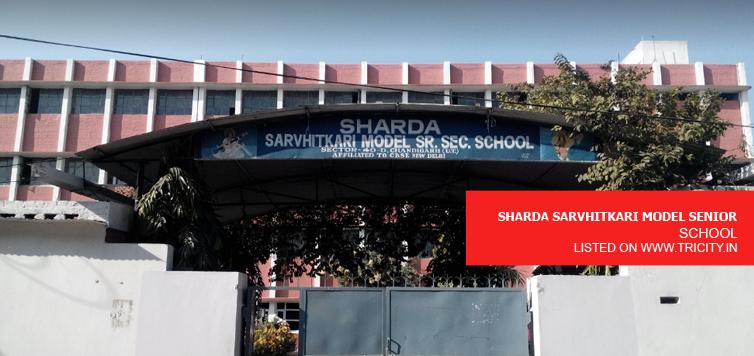 SHARDA SARVHITKARI MODEL SENIOR SECONDARY SCHOOL