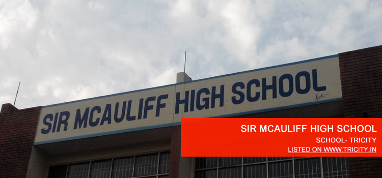 SIR MCAULIFF HIGH SCHOOL