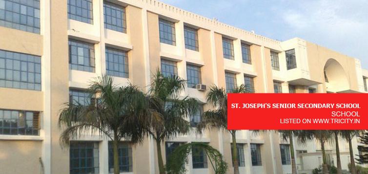 ST. JOSEPH'S SENIOR SECONDARY SCHOOL CHANDIGARH