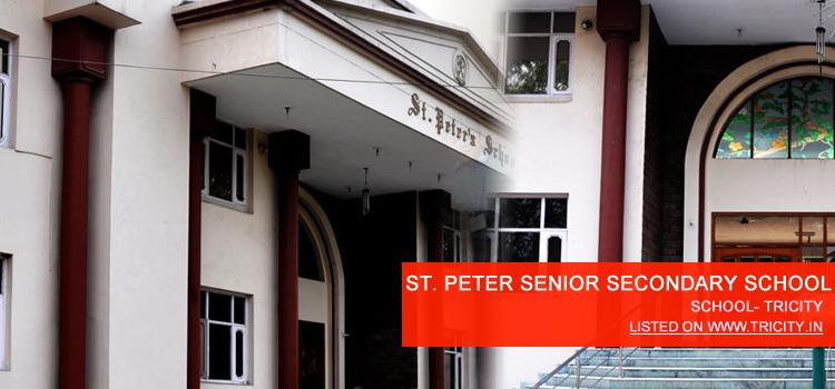 ST. PETER SENIOR SECONDARY SCHOOL