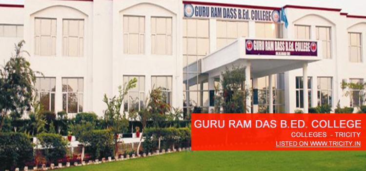 Shri Guru Ram Das B.Ed. College