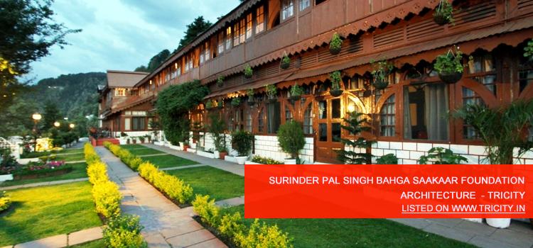 Surinder Pal Singh Bahga Saakaar Foundation