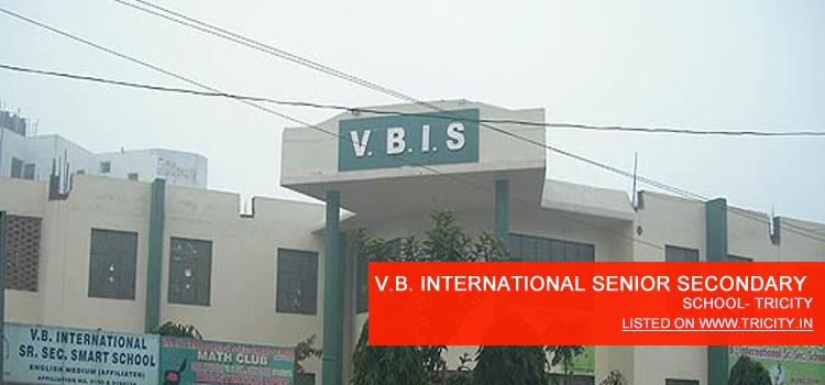V.B. INTERNATIONAL SENIOR SECONDARY SCHOOL