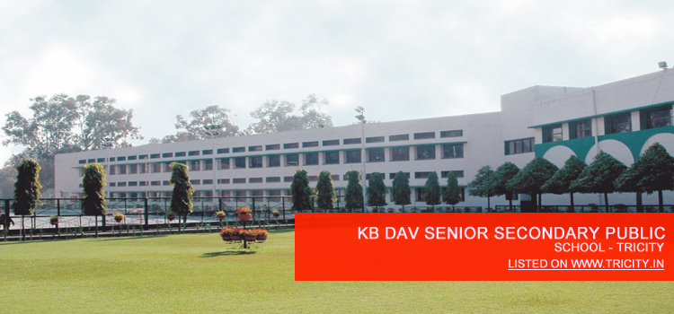 kb dav senior secondary public school chandigarh