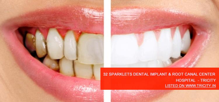 32 Sparklets Dental Implant & Root Canal Center Mohali