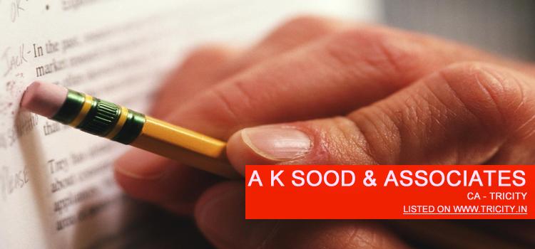 A K Sood & Associates Chandigarh