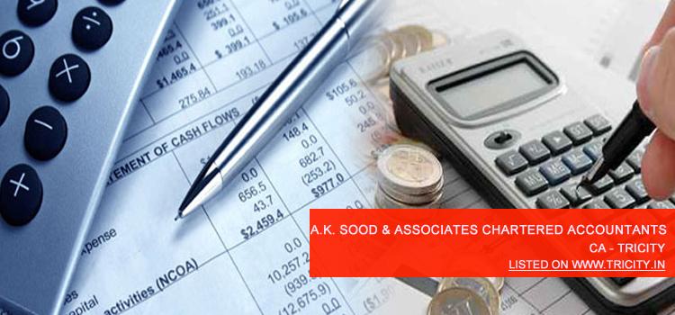 A.K. Sood & Associates Chartered Accountants Chandigarh