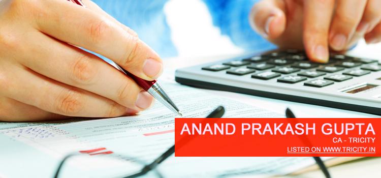 Anand Prakash Gupta Chandigarh