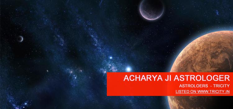 Acharya Ji Astrologer Chandigarh