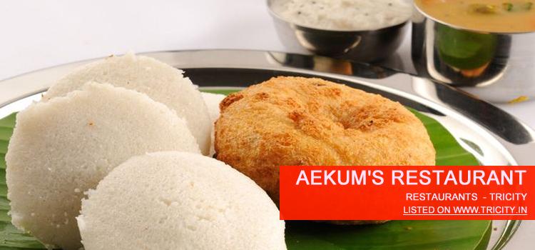 Aekum's Restaurant