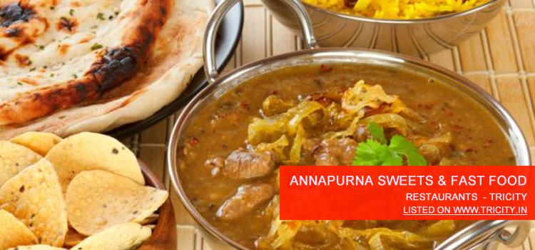 Annapurna Sweets & Fast Food