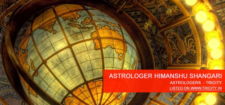 Astrologer Himanshu Shangari Chandigarh