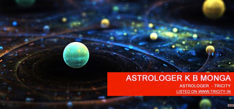 Astrologer K B Monga Chandigarh
