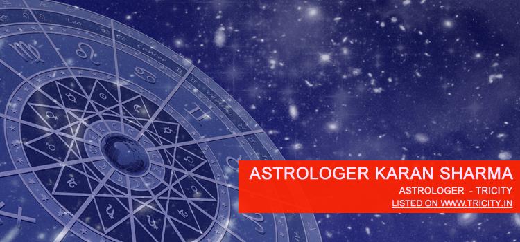 Astrologer Karan Sharma Chandigarh