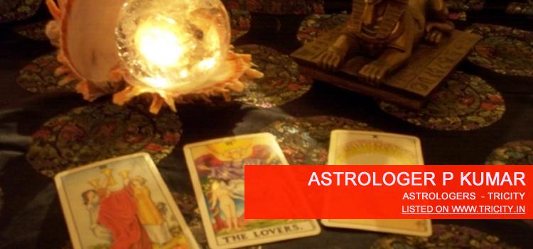 Astrologer P Kumar Chandigarh