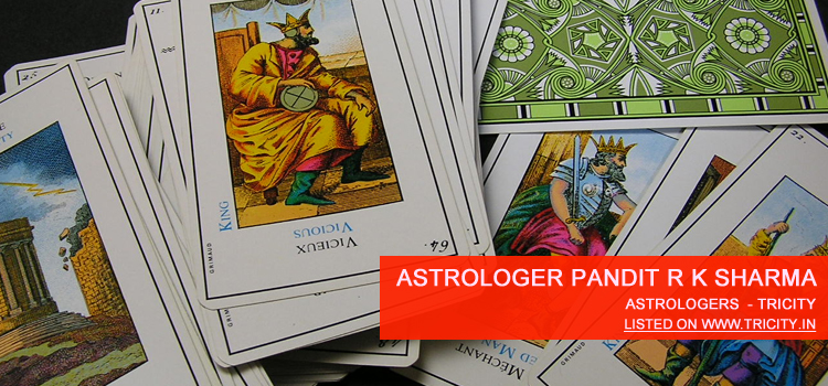 Astrologer Pandit R K Sharma Mohali
