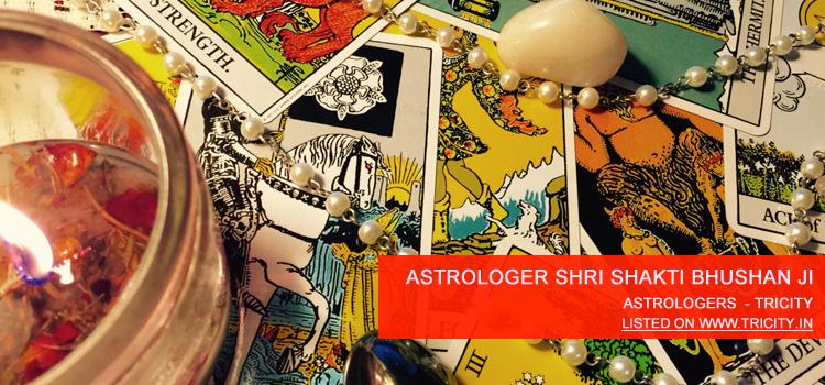 Astrologer Shri Shakti Bhushan Ji Chandigarh