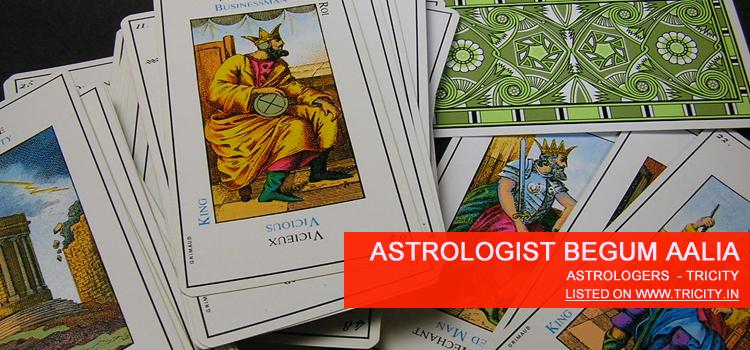 Astrologist Begum Aalia Chandigarh