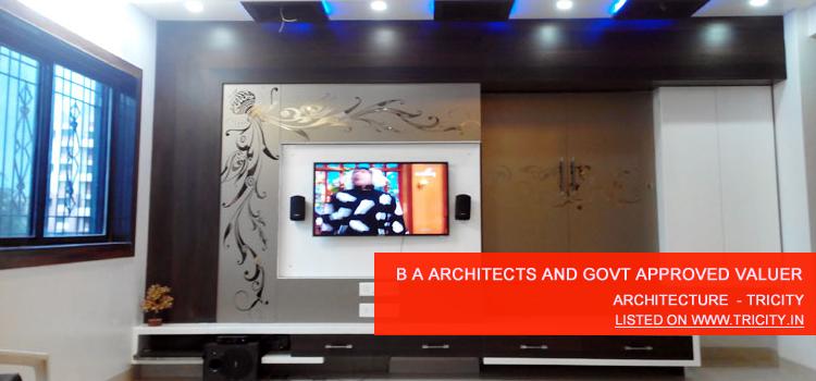b a architects