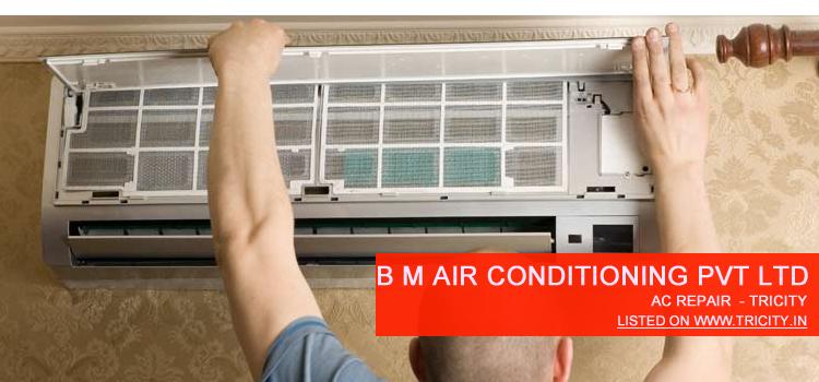 b m air conditioner