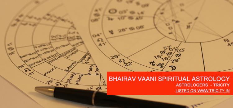 Bhairav Vaani Spiritual Astrology