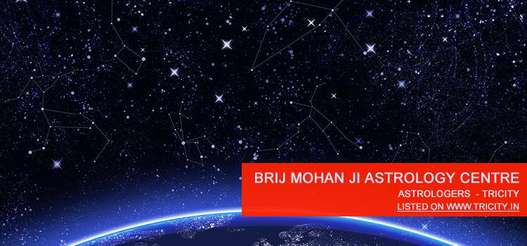 Brij Mohan Ji Astrology Centre Chandigarh