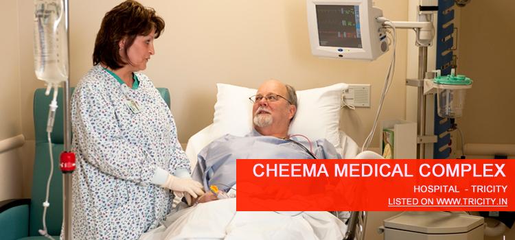 Cheema Medical Complex Mohali