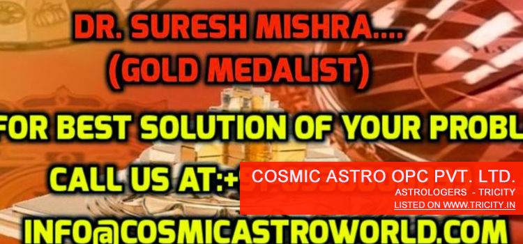 Cosmic Astro OPC Private Limited Mohali