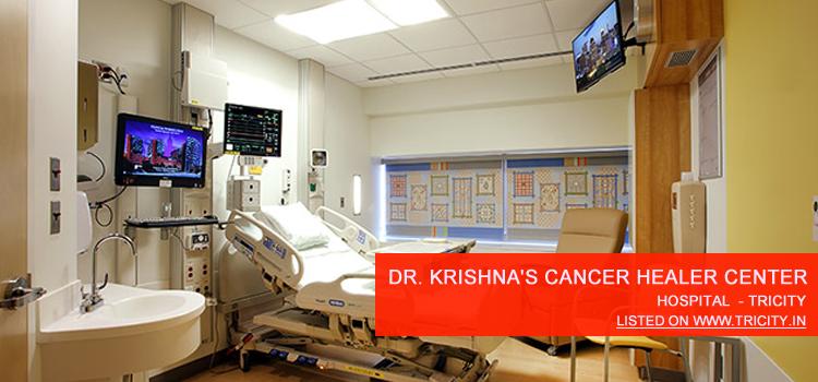 Dr. Krishna's Cancer Healer Center Chandigarh