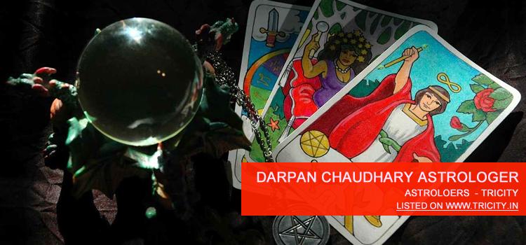 Darpan Chaudhary Astrologer Chandigarh