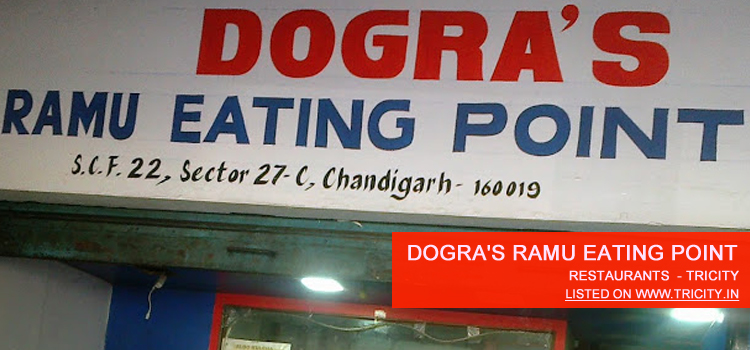 Dogra's Ramu Eating Point