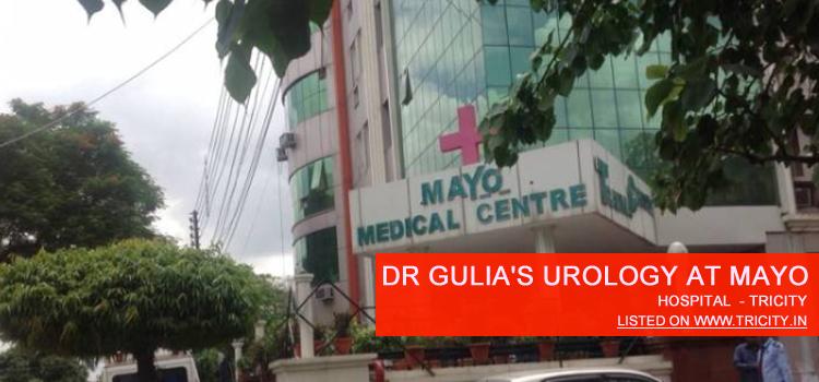 Dr Gulia's Urology at MAYO