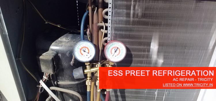 Ess Preet Refrigeration Chandigarh