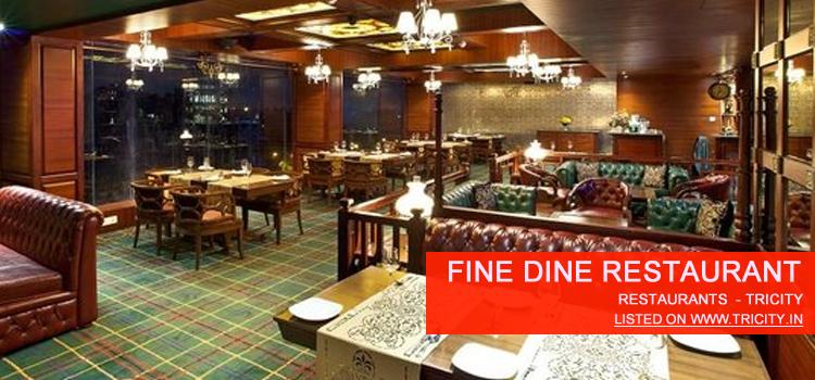 Fine Dine Restaurant Chandigarh