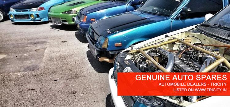 GENUINE AUTO SPARES