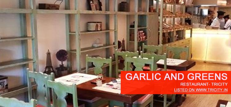 Garlic And Greens