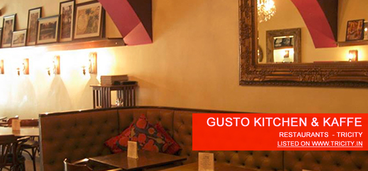 gusto kitchen kaffe