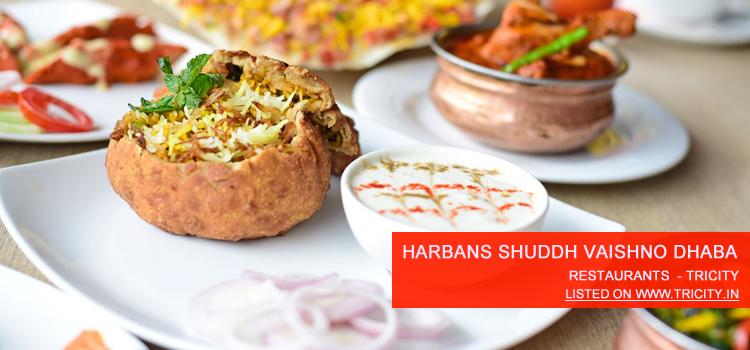 Harbans Shuddh Vaishno Dhaba
