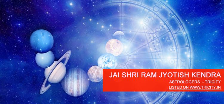 Jai Shri Ram Jyotish Kendra Chandigarh